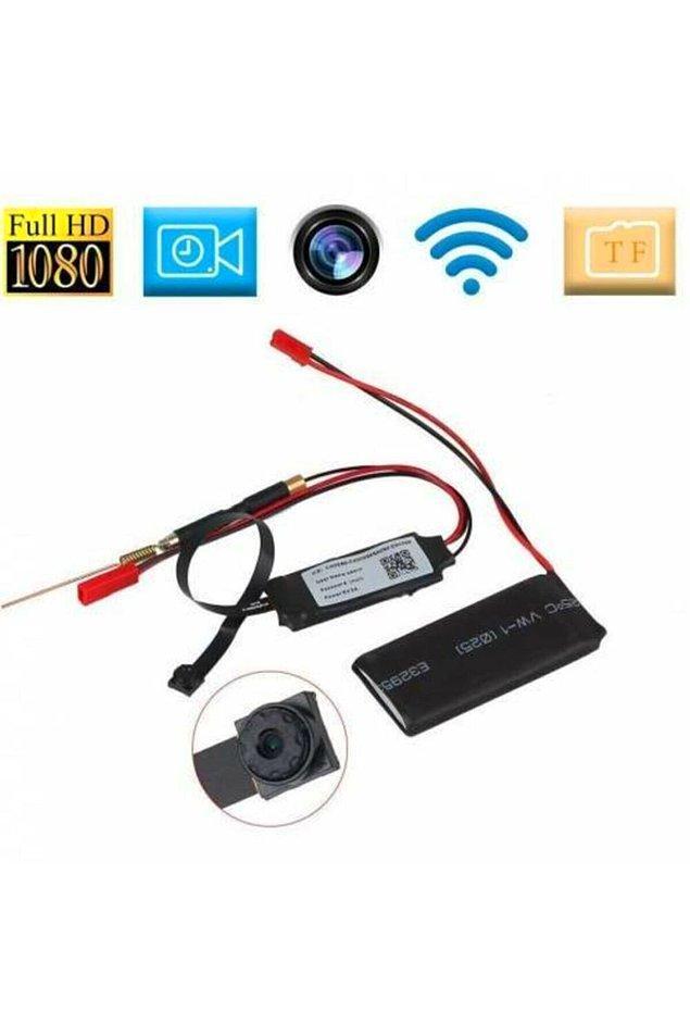 9. Dünyanın en yeni ve en gelişmiş mini IP kamerası...