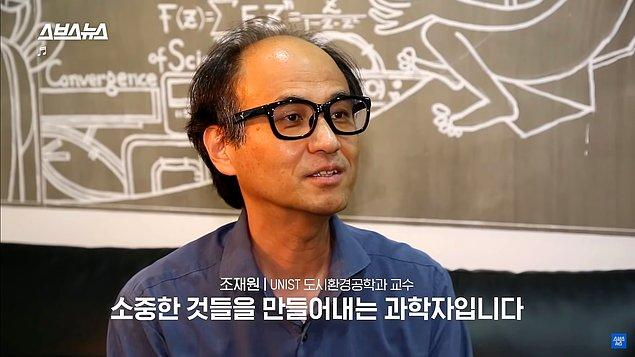 """Şu an UNIST'e 3 BeeVi koymayı başaran Jae-won şöyle söylüyor: """"BeeVi kalıpların dışında düşünmenin ve bir değerin ekolojik sisteme ve ekonomiye geri döndürme fikrinin bir sonucu."""""""