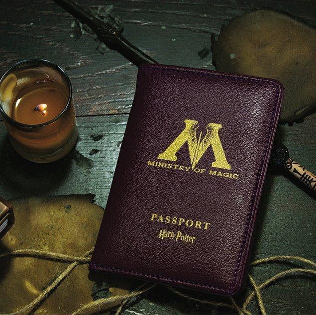 1. Harry Potter Ministry Of Magic pasaport kabına bayıldım!
