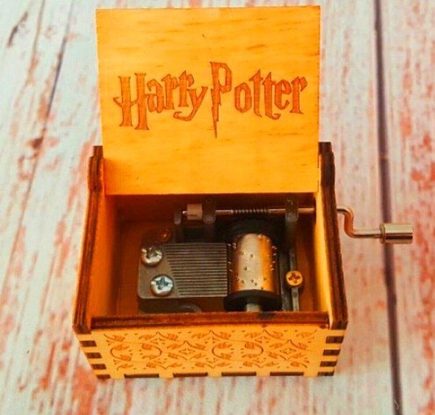 10. Harry Potter tematik müzik kutusu...