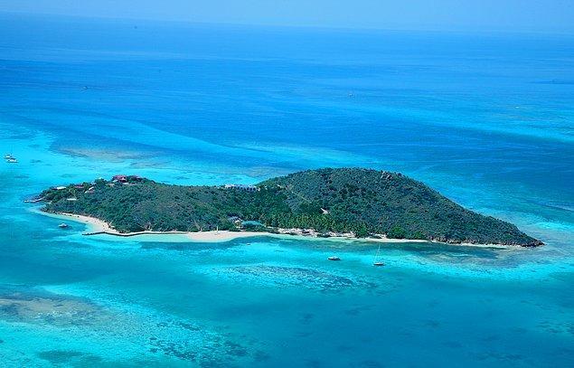 Daha önceden de Page'in Britanya Virjin Adalarının bir parçası olan Eustatia Adası'nı aldığı biliniyordu.