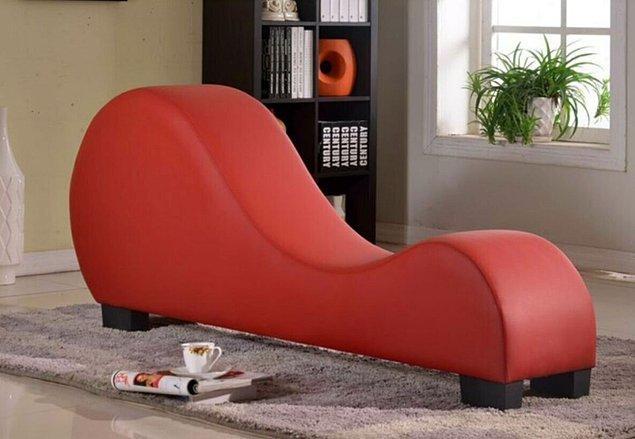 1. Bu koltuğun şehvetli kıvrımları Tantra'nın bilgeliğinden ilham alıyor!