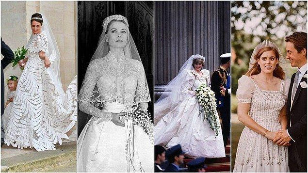Bu seçimin ardından tüm kraliyet gelinleri ve prensesler bembeyaz gelinlikler tercih etmeye başladı.