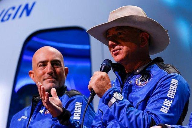Bezos'tan NASA yöneticisine mektup