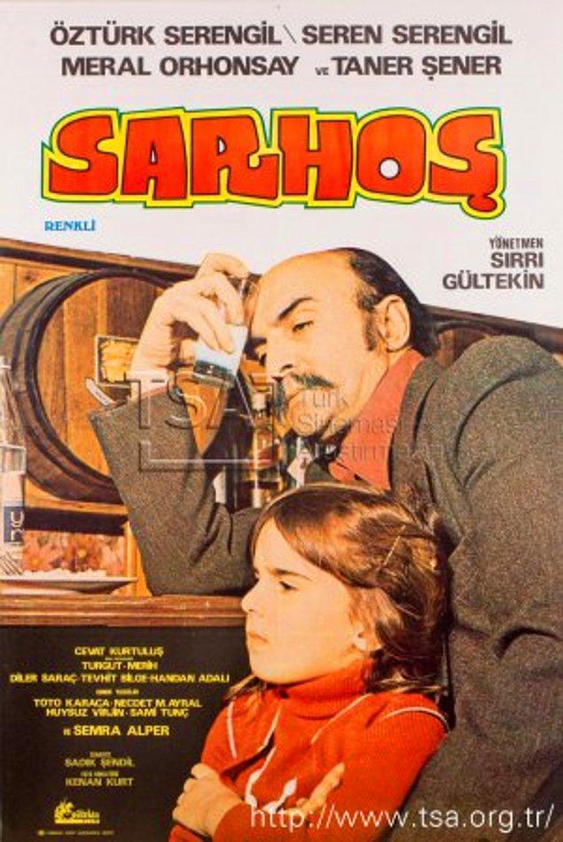 Seren Serengil'in kamera ile ilk tanışması 1977 yılında babası Öztürk Serengil ile birlikte rol aldığı Sarhoş filmi ile olmuş