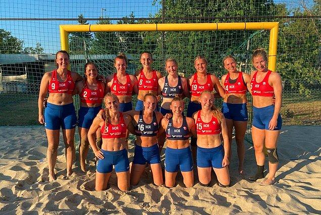 Ancak maç sonrasında kadın sporcularının şort giymesi kural ihlali olarak gösterilerek takıma 1500 euro ceza kesildi.