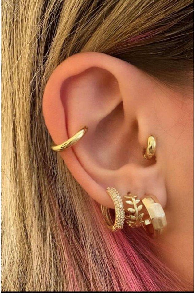 9. Vintage stilinizi tamamlayacak en uygun tragus piercing modeli tam olarak şurada👇 🥰