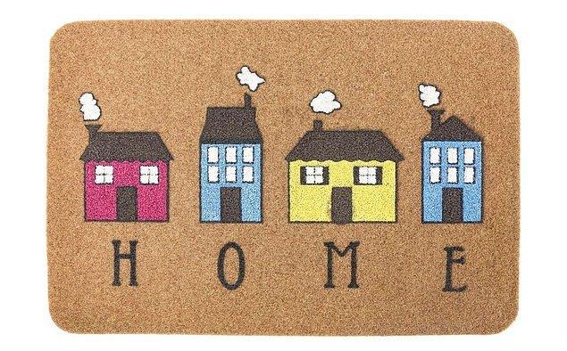 11. Kapı önü paspasları evinize dair bir fikir veriyor olabilir.
