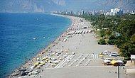 Antalya'da Hava Sıcaklığı Temmuz Ortalamasının 9 Derece Üzerine Çıkacak