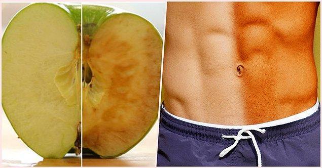 33. Elmaları ve patatesleri kahverengi yapan enzim aynı zamanda insanlarda bronzlaşmadan da sorumludur.