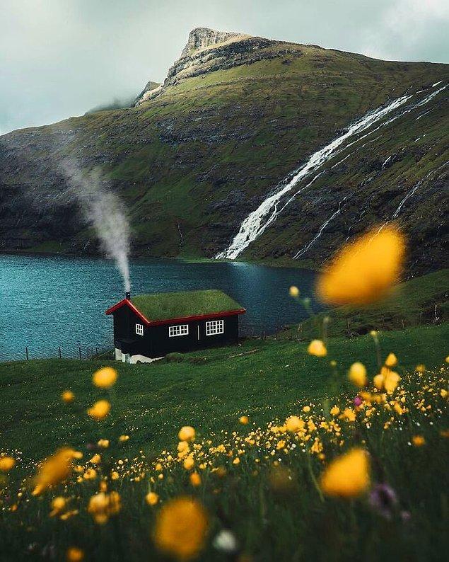 11. İskandinav kabini.