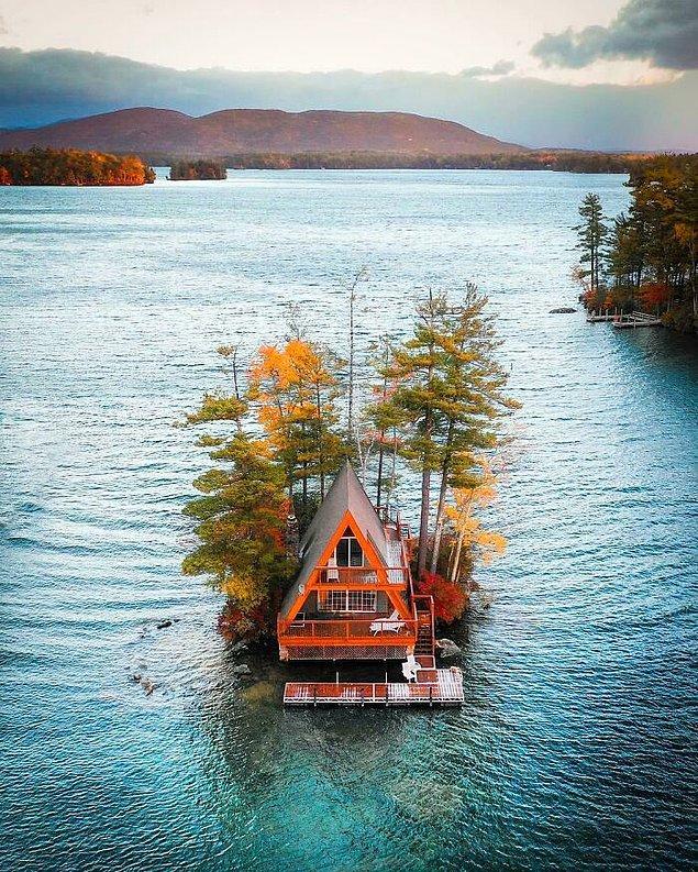12. Winnipesaukee Gölü, Yeni Hampshire.