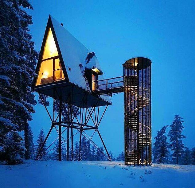 50. Modernlikte yeni bir çığır açmış bu yüksek kabin.