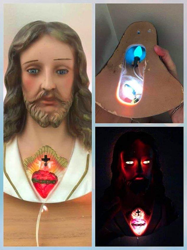 """5. """"Bu İsa lambası ile kutsal geceler."""""""