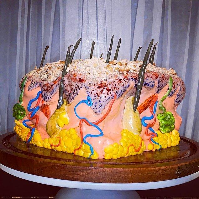 """12. """"Bu deri pastası iştahımı bir hayli kaçırdı."""""""