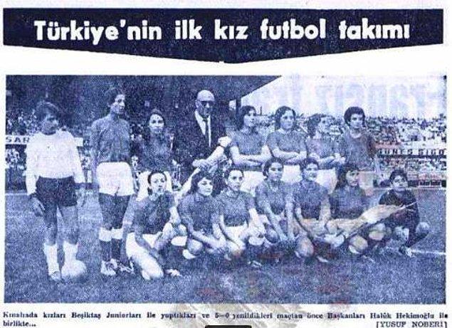 Bu yaşanan olaydan kısa süre sonra, 20 Mart 1968'de eski hakemlerden Reşat Önen öncülüğünde ilk kadın futbol takımı Hanımspor'un temelleri atılmaya hazırlanılıyordu. Renklerini turuncu-siyah olarak belirledikleri bir kadın futbol kulübü kurma amacı doğmuştu.