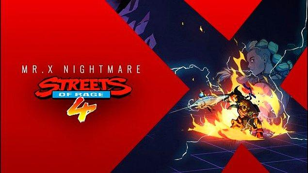 7. Streets Of Rage 4 - Mr. X Nightmare
