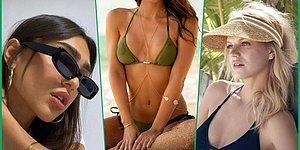 Yaz Bitmeden Plajlarda Bikinilerinizle Kombinleyebileceğiniz Aksesuar Çeşitleri