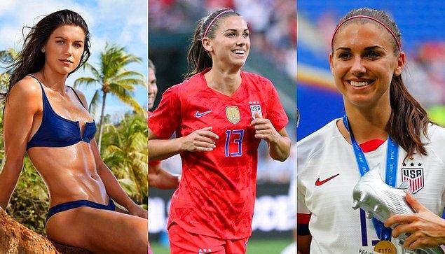 4. Alex Morgan / ABD / Futbol