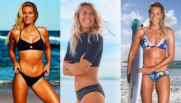 8. Stephanie Gilmore / Avustralya / Sörf