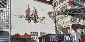 Bunu da Gördük: Burdur Belediyesi Binasındaki Şehrin Simgesi Freskler Yıkıldı...