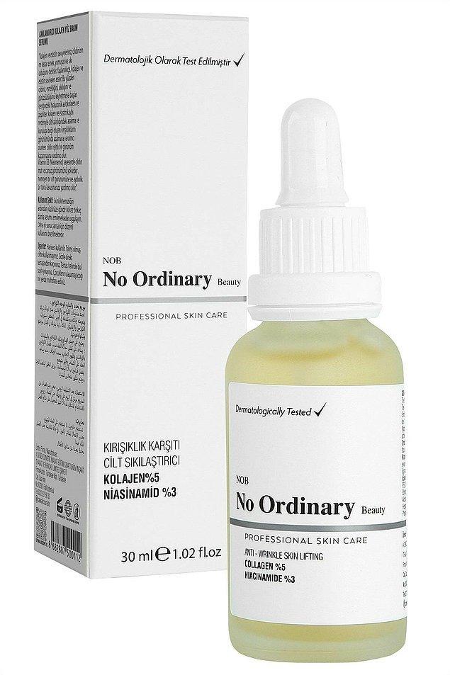 5. No Ordinary Collagen kırışıklık karşıtı sıkılaştırıcı serum