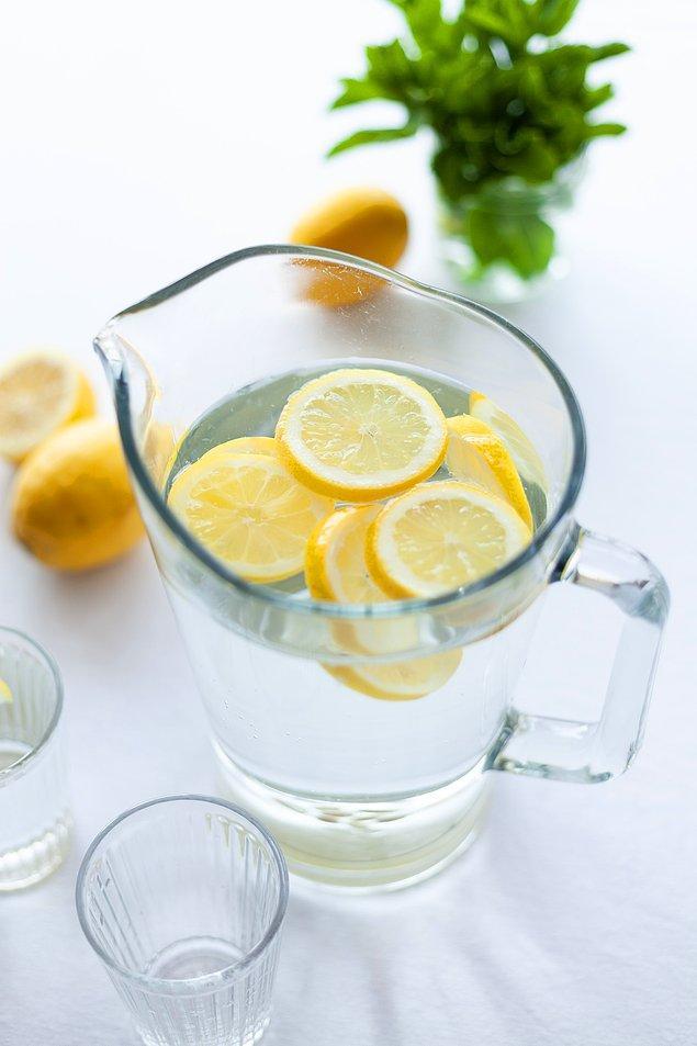7. Su içmek hayatınızın bir parçası olsun.