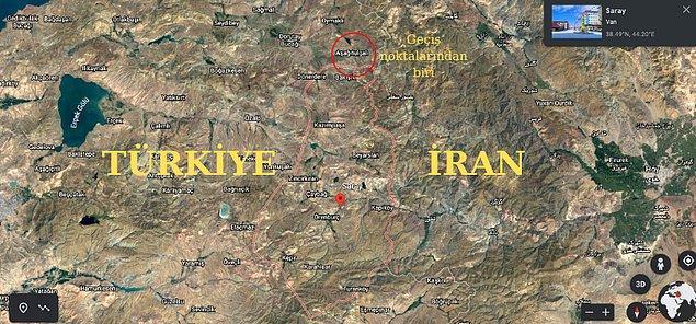 Türkiye'ye geçişte en yoğun rota İran üzerinden.