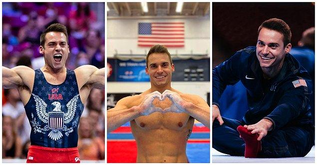 13. Sam Mikulak / Jimnastik / Amerika Birleşik Devletleri: