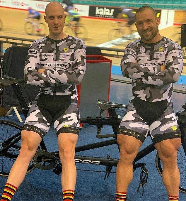 29. Üst bacağının kalınlığı 74 santimetre olan olimpik bisikletçi Robert Forstemann: