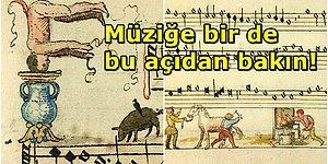 İçerdiği Grotesk Çizimlerle Görenleri Kendine Hayran Bırakan 16. Yüzyıldan Kalma Müzik Kitabı