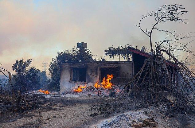 51 kişi yangından etkilendi