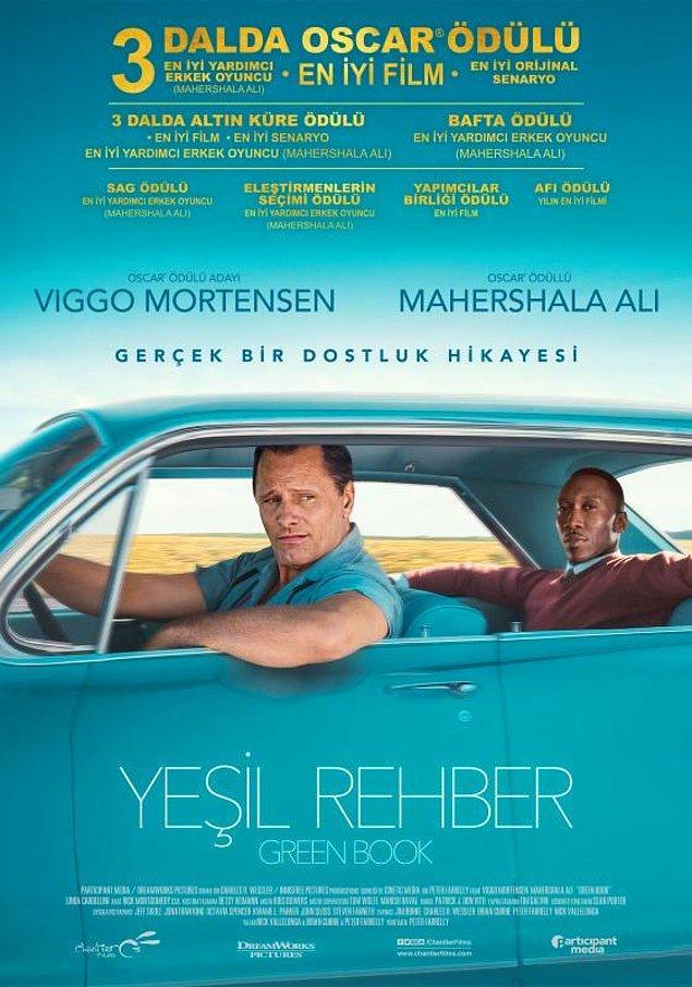 4. Green Book / Yeşil Rehber (2018) IMDb: 8.2