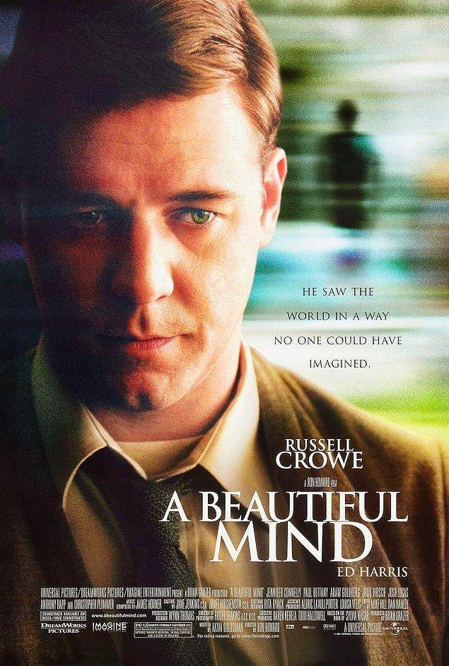 3. Beautiful Mind / Akıl Oyunları (2001) IMDb: 8.2