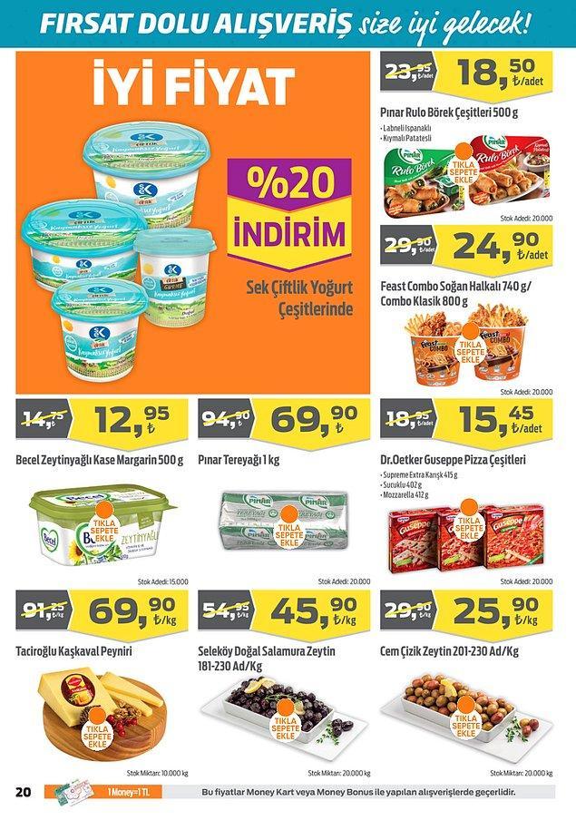 Taciroğlu Kaşkaval Peyniri kg 69,90 TL.