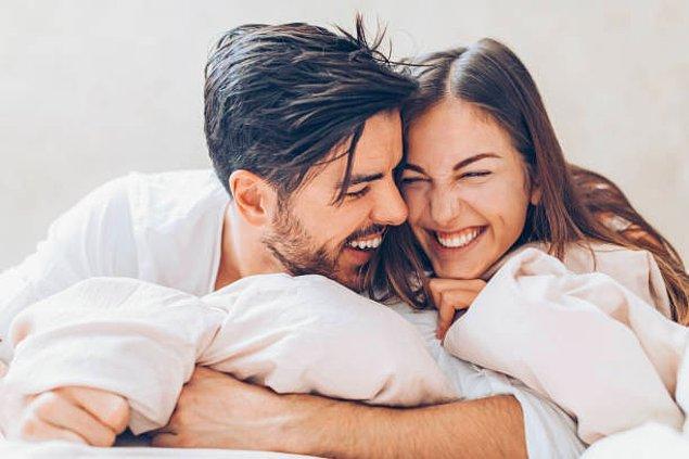 Aktif cinsel yaşam = Mutluluk