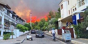 Bazı Otel ve Binalar Tahliye Edildi: Marmaris'te Orman Yangını