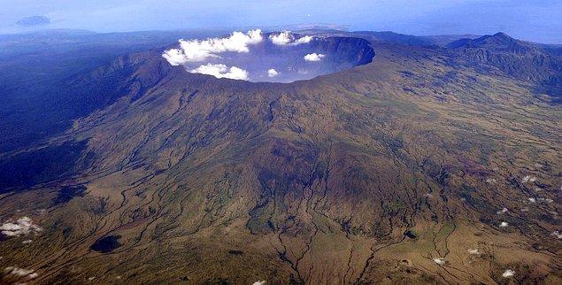 3. Tarihteki en büyük volkanik patlama.