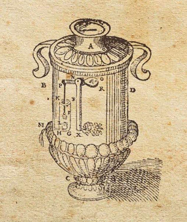 6. Dünyanın ilk otomat makinesi 2000 yıldan daha eski bir süre önce icat edildi.