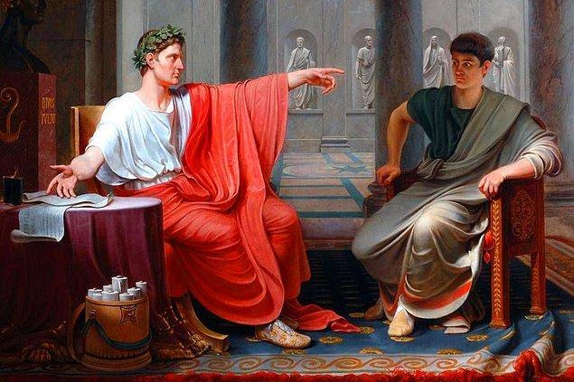 10. Augustus Caesar tarihte yaşamış en zengin adamdı.