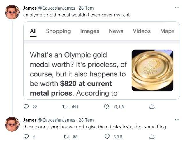 Kullanıcının da belirttiği gibi, bu madalyaların maddi değeri sandığınız kadar da uçuk değil.