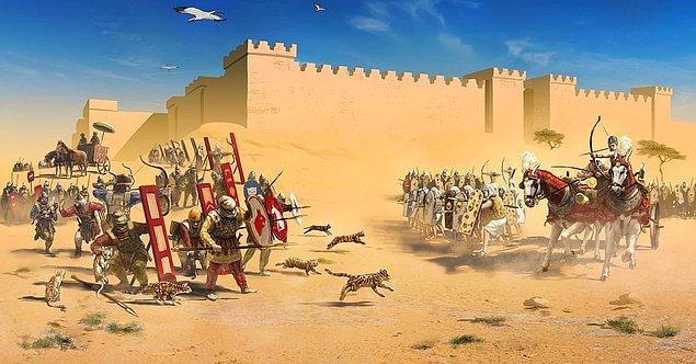 23. Persler, MÖ 525'te bir Mısır saldırısını durdurmak için kedileri kullandılar.
