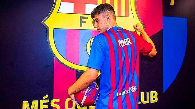 Barcelona'da forma giyen Türk oyuncular