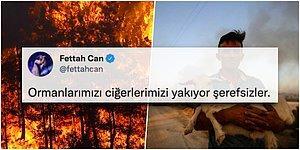 Ciğerimiz Yanıyor... Türkiye'nin Dört Bir Yanında Eş Zamanlı Başlayan Yangınlara Ünlüler Sessiz Kalmadı