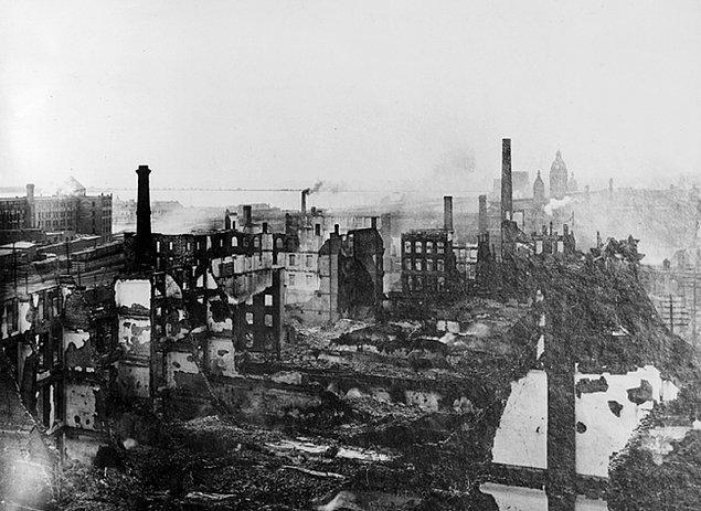 1919 Büyük Ateş, Kanada