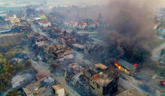 Türkiye'nin dört bir yanı alev alev yanıyor. Önce Manavgat'ta çıkan büyük yangın haberiyle kahrolduk. Alevlerin çekildiği yerler görünmeye başladıkça felaketin ne kadar büyük olduğu da belli olmaya başladı.