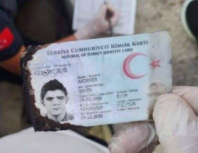 Hayatını kaybeden kişinin 25 yaşındaki Şahin Akdemir olduğu tespit edildi.