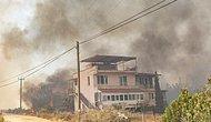 Mersin Aydıncık Alevlere Teslim: 3 Mahalle Boşaltıldı