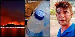 Marmaris Yangınında Su Taşıyan Şahin Akdemir'in Hayatını Kaybetmeden Önceki Paylaşımları Kahretti