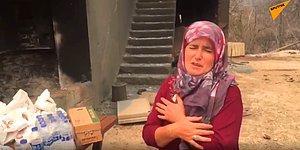 Yangında Malları Hasar Gören Vatandaş: 'İneklerim, Tavuklarım, Hiçbir Şeyim Kalmadı'
